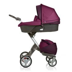 Stokke stroller brings baby up to where you can actually see them, and adjusts until they're past toddler stage.