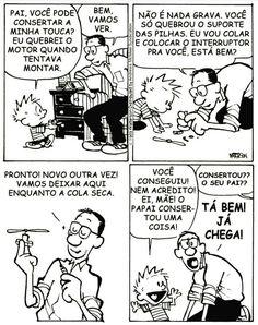 Calvin And Hobbes, Hobbs, Funny Shit, Peanuts Comics, Cartoon, Good Mood, Laughter, Facts, Study
