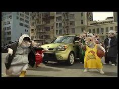 Hamsters Kia Soul Commercial