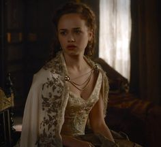 Claude on Reign 4x01