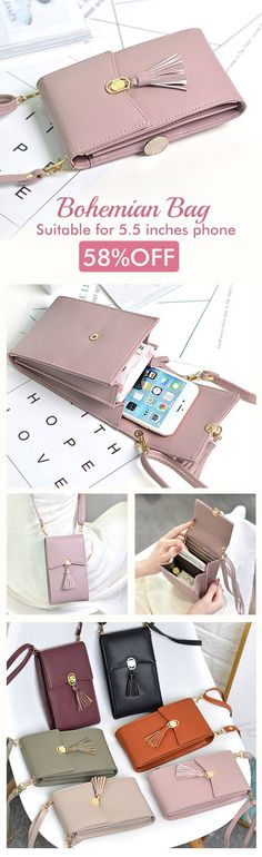 Bohemian Tassel Shoulder Bag Inches Phone Bag For Women is designer, see other cute bags on NewChic. Things To Buy, Stuff To Buy, Cute Bags, Boho Gypsy, Fashion Bags, Womens Fashion, Purses And Bags, Women's Bags, Autumn Fashion