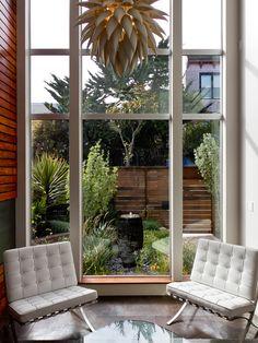 contemporary Design,  courtyard fountain
