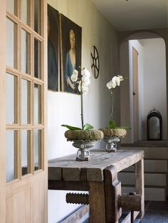 """""""as always-keep it simple"""" ...But, perhaps just add a little bit of #Linen on the Table for #Texture... #homedecor"""