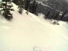 http://www.POVPowder.com POV Snowboarding Steep Gully Number 2 Arapahoe Basin Sidecountry Colorado 05/15/2014. I know I've been filming too much lately when I automatically wiped off the camera after I wiped my googles following that snow spray. #POVPowder