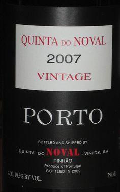 Quinta do Noval 2007 Vintage Port, Portugal , R-94