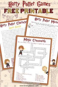 Harry Potter Maze - Free Printable Kids Activity Sheet - Lovely Planner, Free Printable Harry Potter Activity Sheets: Crosswords, Word Search, Maze Deux start-up revisitent l'univers p l'espionnage avec signifiant l'enquêles avec leurs .