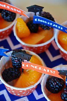 Graduation mini dessert ideas