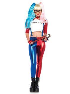 Women/'s Girls Halloween Harley Quinn Cosplay UK leggings Suicide Squad HOT Pants
