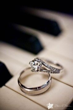 Wedding Ring Piano Photo Bbjndesigns Weddings Pinterest Photos And