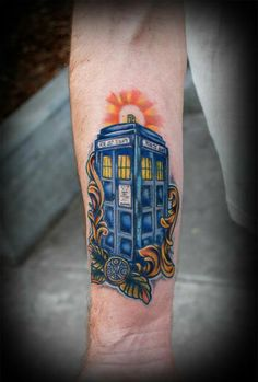Doctor Who tat