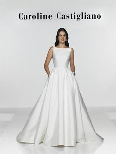 The Hepburn dress, part of the English Heritage Collection by Caroline Castigliano  www.sarahelizabethbridal.co.uk 01242 257103 info@sarahelizabethbridal.co.uk