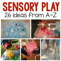 sensory play ideas A-Z square image