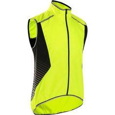 Deporte Ciclismo Ropa - chaleco cortavientos bici 700 fluorescente B'TWIN - Parte de arriba