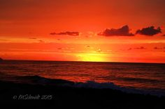 Beach Sunset 13Oct2015 by MSchmidtPhotography.deviantart.com on @DeviantArt
