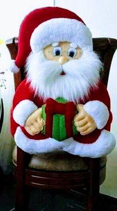 Christmas Chair Covers, Christmas Crafts, Merry Christmas, Handmade Christmas, Santa, Teddy Bear, Toys, Projects, Fifa