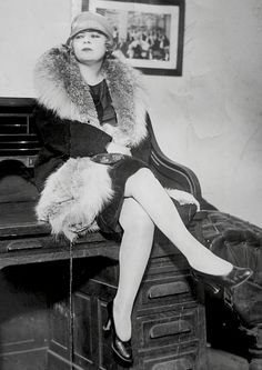 "In 1927, Mae West was sentenced to 10 days in prison and given a $500 fine, charged with ""obscenity and corrupting the morals of youth"" for writing, under the pen name Jane Mast, directing, and starring in the play 'Sex.' Photo, 1937."