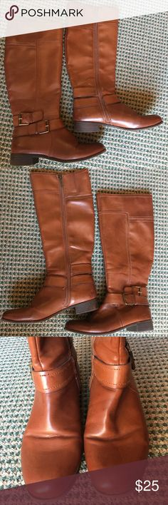 Boots for fall 🍂 Nine West tall brown boots, really good condition and perfect for the seasons coming up! 🍂 Nine West Shoes Winter & Rain Boots