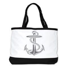 Awesome Vintage Anchor Shoulder Bag