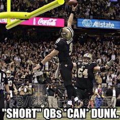 Saints Drew Brees Dunk