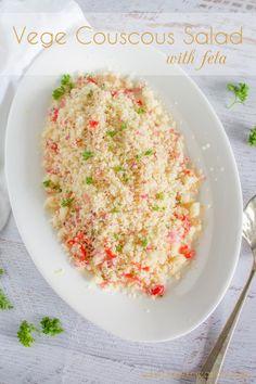 Vege couscous salad
