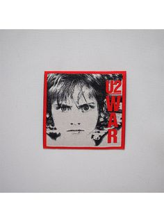 "U2 - War Patch.  Embroidered and can be ironed or sewn on jackets, jeans, shirts, bag etc.  Size: H 7.5cm (3"") x W 7.5cm (3"")  Free Shipping to anywhere in Australia."