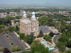 Logan, Utah LDS Temple  #ldstemple #ldsquote