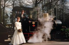 Corine van Oudheusden trouwde op 26 maart 1993 met haar man en maakten ook trouwfoto's in de Efteling.