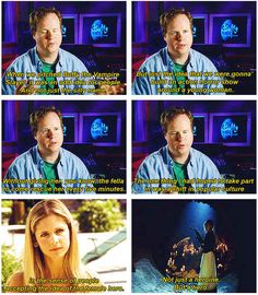 """The one thing I had hoped to take part in was a shift in popular culture in the sense of people accepting the idea of a female hero. Not just a heroine. But a hero."" - Joss Whedon, creator of Buffy the Vampire Slayer. This is why people love Joss Whedon. Nerd Love, My Love, Be My Hero, Joss Whedon, Buffy The Vampire Slayer, Geek Out, Before Us, The Villain, My Guy"