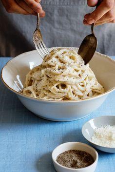 Easy Pasta RECIPE: Cacio E Pepe Di Leonardo VIgnoli