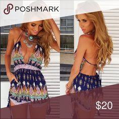 cute summer romper NEVER WORN Dresses