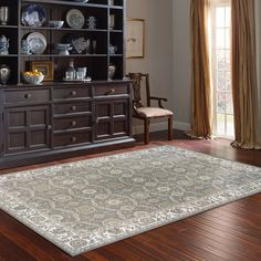 Thomasville Timeless Classic Rug Collection - Adona Gray
