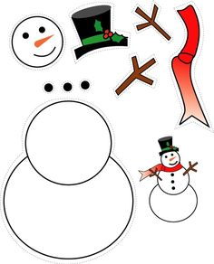 34 Ideas for craft christmas snowman Holiday Crafts For Kids, New Crafts, Christmas Activities, Xmas Crafts, Paper Crafts, Christmas Colors, Christmas Snowman, Kids Christmas, Decoration Creche
