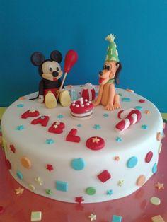 Tarta Mickey Mouse y Pluto