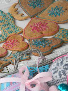 pierniki w stylu skandynawskim http://przebudzenie-dorota.blogspot.com/