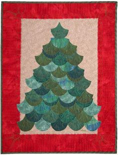 Quilt Inspiration: 12 days of Christmas trees