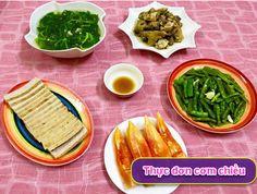 Bữa cơm chiều nhiều món ngon ơi là ngon - http://congthucmonngon.com/215966/bua-com-chieu-nhieu-mon-ngon-oi-la-ngon.html