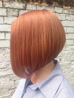 Haircut by Anna #bob #copper #thekliniksalon #ExmouthMarket #haircut
