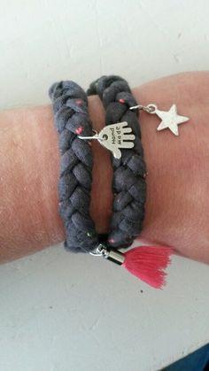 Armband gemaakt #xlgaren