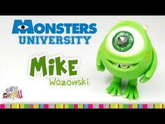 Mike Wazowski Polymer Clay Tutorial / Mike Wazowski de Arcilla Polimérica