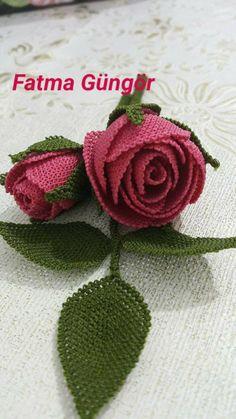 Beaded Cross Stitch, Diy Flowers, Beaded Embroidery, Tatting, Needlework, Crochet Earrings, Beads, Sewing, Crafts