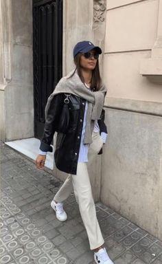 Looks Street Style, Looks Style, Mode Ootd, Look Blazer, Mein Style, Winter Fits, Mode Streetwear, Mode Inspiration, Cute Casual Outfits