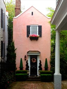 charleston, sc inspired homes