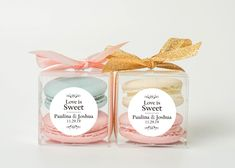 10 Sets of wedding clear macaron packaging macaron box wedding favor macaron favor macaron gift bridal shower baby shower macaron by CookieboxStore on Etsy Winter Wedding Favors, Elegant Wedding Favors, Diy Wedding Favors, Wedding Gifts, Winter Weddings, Macaroon Favors, Macaron Boxes, Wedding Doorgift, Macaron Packaging