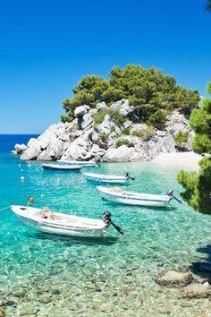 Brela Beach   Croatia