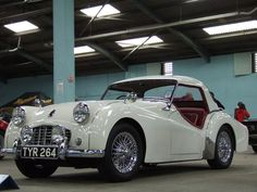 1957 Triumph TR3 was the first car in which I ever did 100mph.  And you knew it....windy, noisy and jumping around!