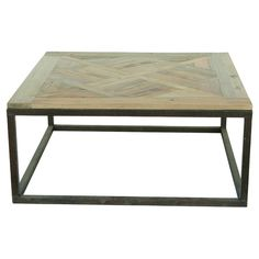 Joss and Main. The perfect canvas for a vase of bright blooms or your favorite family photos, this rustic coffee table features an open iron base and reclaimed pine wood to...