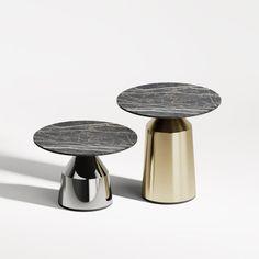 Tables by IvaDecorStudio seen at New York, New York - Vertigo Coffee Table Coffee Table Legs, Large Coffee Tables, Metal Table Legs, Metal Dining Table, Coffee Table Design, A Table, Center Table, Petites Tables, Modern Side Table