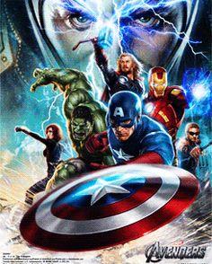 3D Avengers