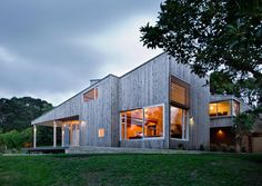 macrocarpa cladding - another example