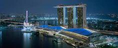 シンガポールに新規取引先見つけてベイサンズに泊まる。